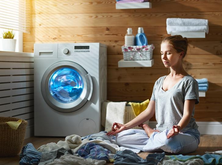 Фото №1 - Как научиться расслабляться за домашними делами