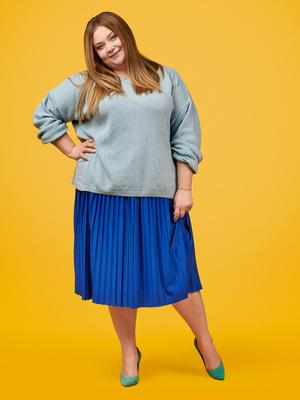 Фото №2 - Как одеваться девушке с полными икрами: 5 простых лайфхаков