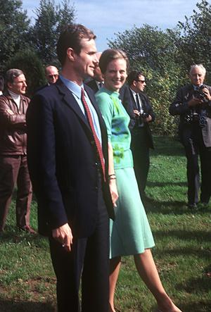 Фото №9 - Принц Хенрик и Королева Маргрете: история любви в фотографиях