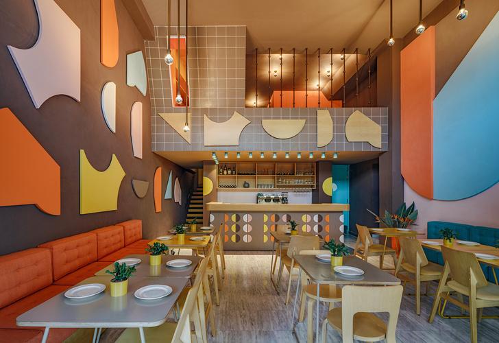 Фото №2 - Яркий ресторан в Афинах