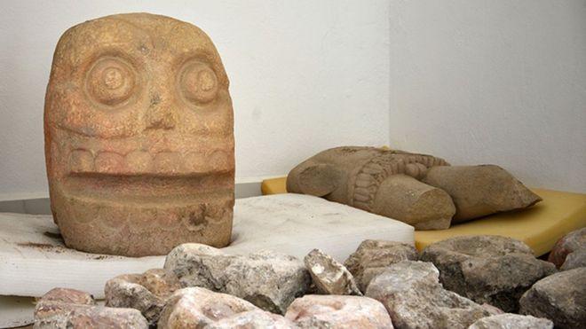 Фото №1 - В Мексике обнаружили храм бога «с содранной кожей»