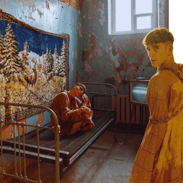 Фото №1 - Одиночество в дурдоме: сумасшедшая фотосессия Артура Бабича 🤯
