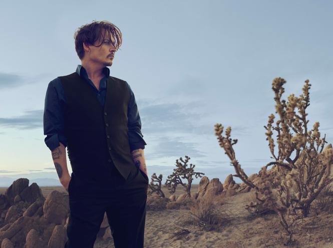 Фото №1 - Дикий: Джонни Депп в новом рекламном ролике Dior