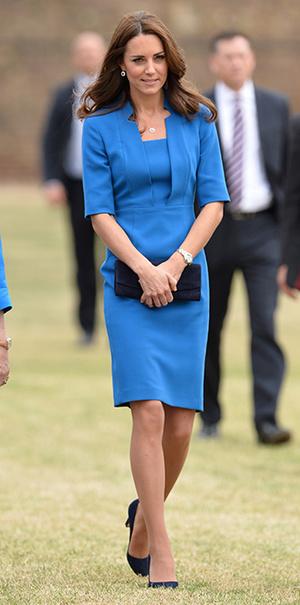 Фото №5 - В модном положении: две беременности герцогини Кембриджской (сравним?)