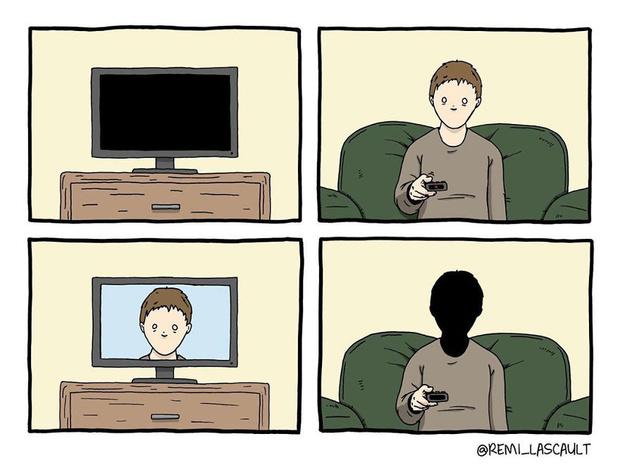 Фото №13 - 19 комиксов для ценителей черного юмора от французского художника