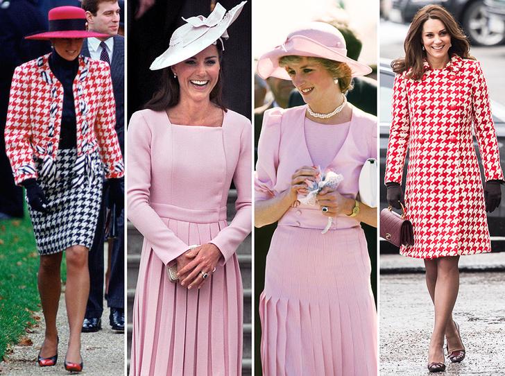 Фото №1 - Как Кейт Миддлтон вдохновляется стилем принцессы Дианы (и, главное, зачем?)