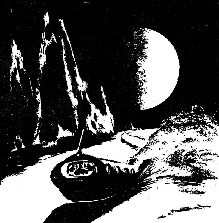 Фото №1 - Артур Кларк. Лунная пыль