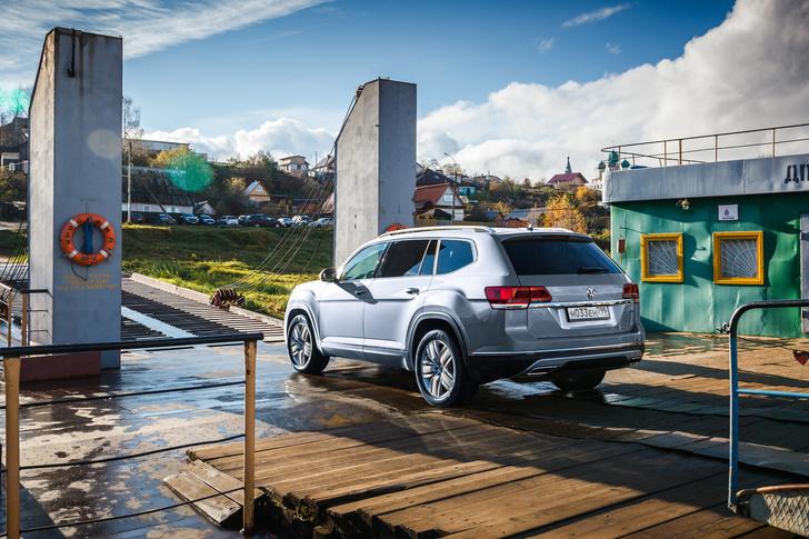 Фото №4 - Volkswagen Teramont— шах и мат «Крузаку»