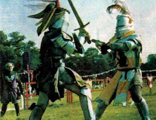 Фото №1 - Средневековый биатлон