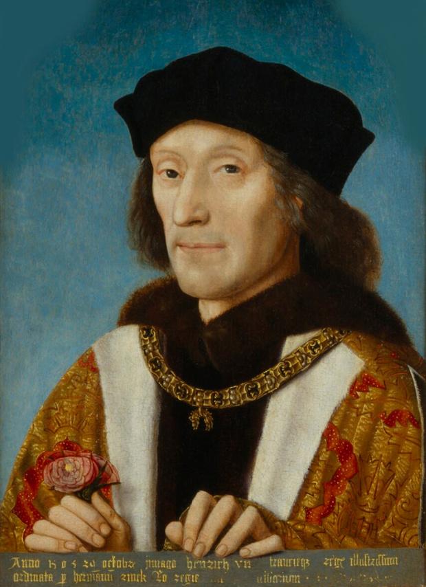 Генрих VII, чье правление началось с эпидемии «английского пота»