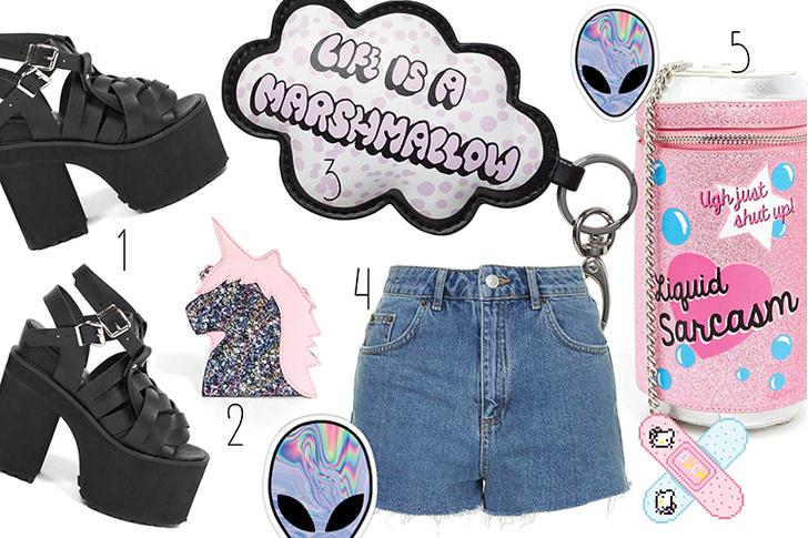 Фото №2 - Топ-10: Вещи в стиле Tumblr girl