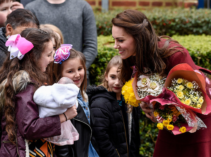 Фото №2 - По стопам Дианы: герцогиня Кембриджская нашла свое призвание в детях