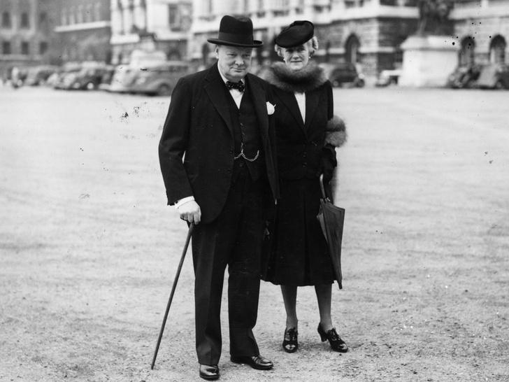 Фото №2 - От Одри Хэпберн до Уинстона Черчилля: знаменитые родственники принцессы Дианы