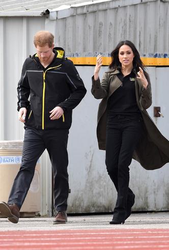 Фото №3 - Меган Маркл и принц Гарри приехали на спортивное соревнование