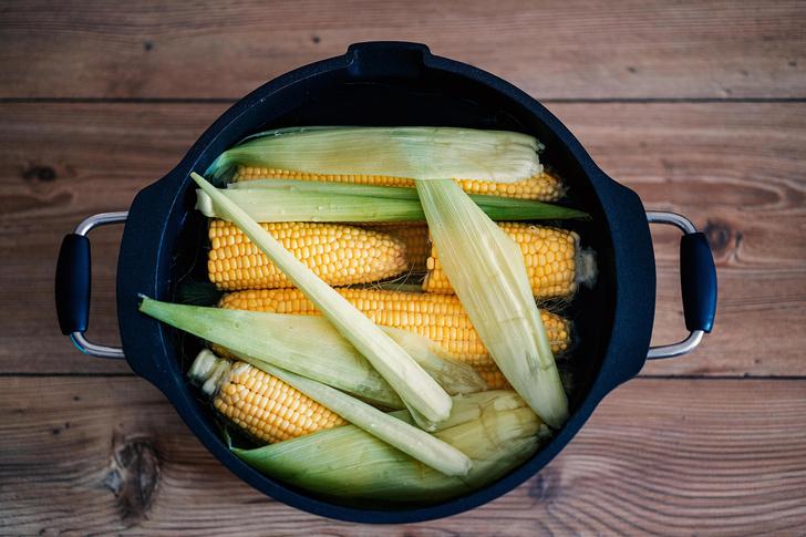 Как подготовить кукурузу к варке