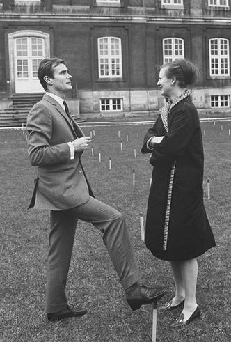 Фото №12 - Принц Хенрик и Королева Маргрете: история любви в фотографиях