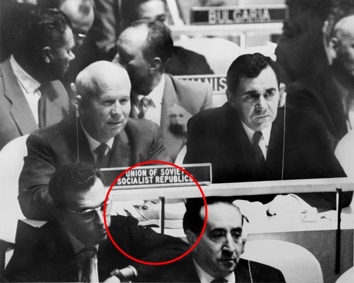 Фото №3 - 61 год громкой истории про то, как Хрущев стучал ботинком по столу в ООН