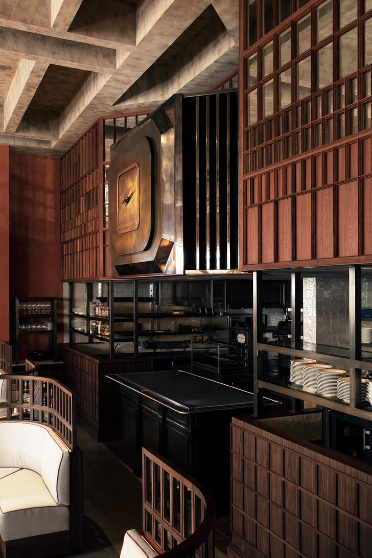 Фото №4 - Декадентский интерьер ресторана в Лондоне