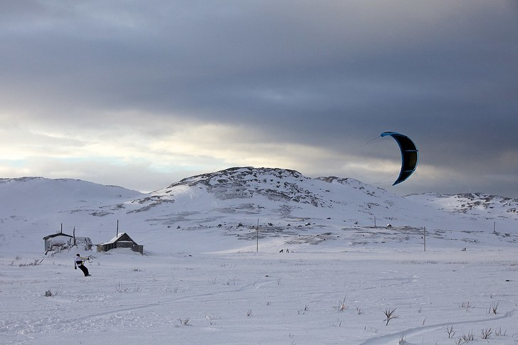 Фото №4 - Мороз и солнце: необычные соревнования на льду, о которых вы могли не знать