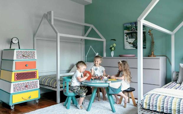 Фото №1 - Вопросы читателей: как оформить комнату для братьев «на вырост»?