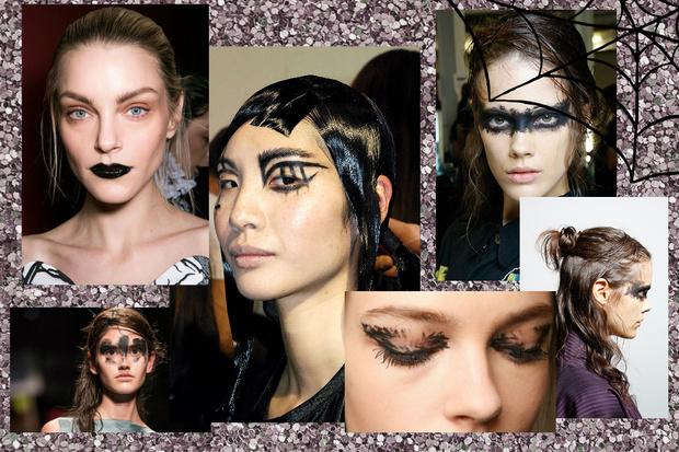 Фото №5 - 8 вариантов макияжа на Хэллоуин с подиумов