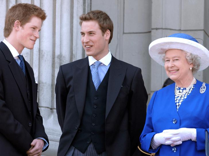 Фото №2 - Не только Королева, но и бабушка: принц Уильям и его трогательное отношение к Елизавете II