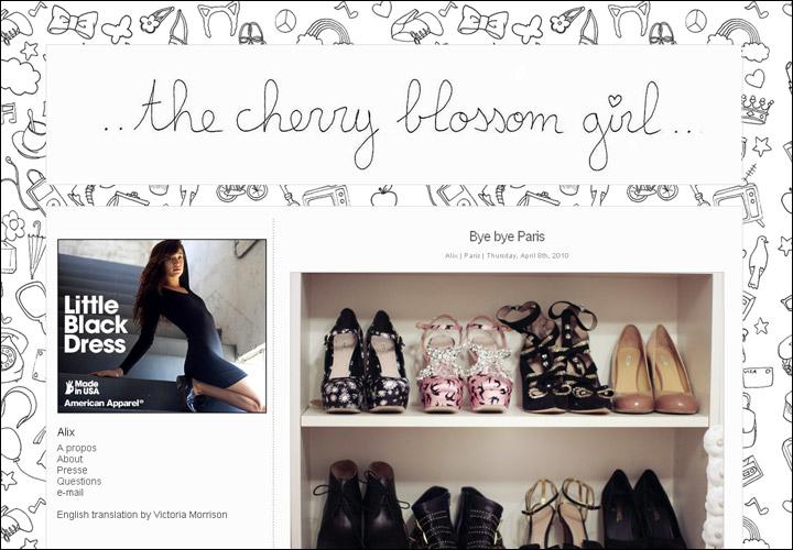 Страница fashion-блогера усыпана рисунками конфет, флаконов духов и прочих предметов обожания женщин.