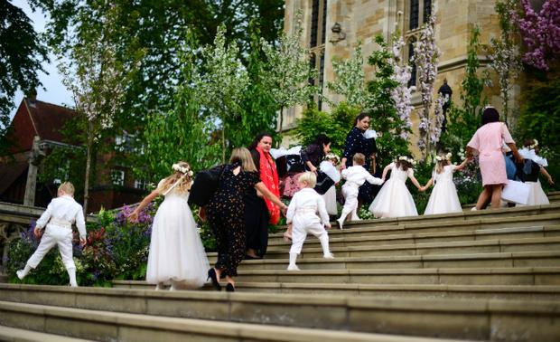 Фото №7 - 6 главных фактов о свадьбе Леди Габриэллы Виндзор и Томаса Кингстона