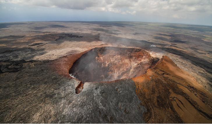 Фото №1 - Ученые предупредили о возможном извержении крупного вулкана