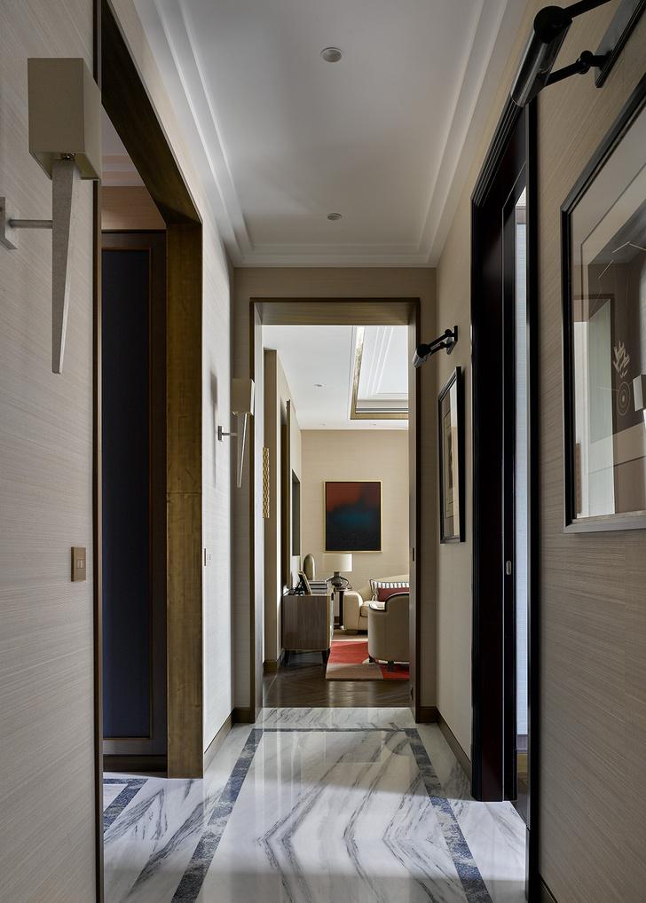 Фото №2 - Новая классика в московской квартире