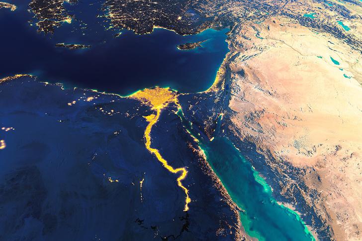 Фото №1 - Названа самая «прямоугольная» страна мира
