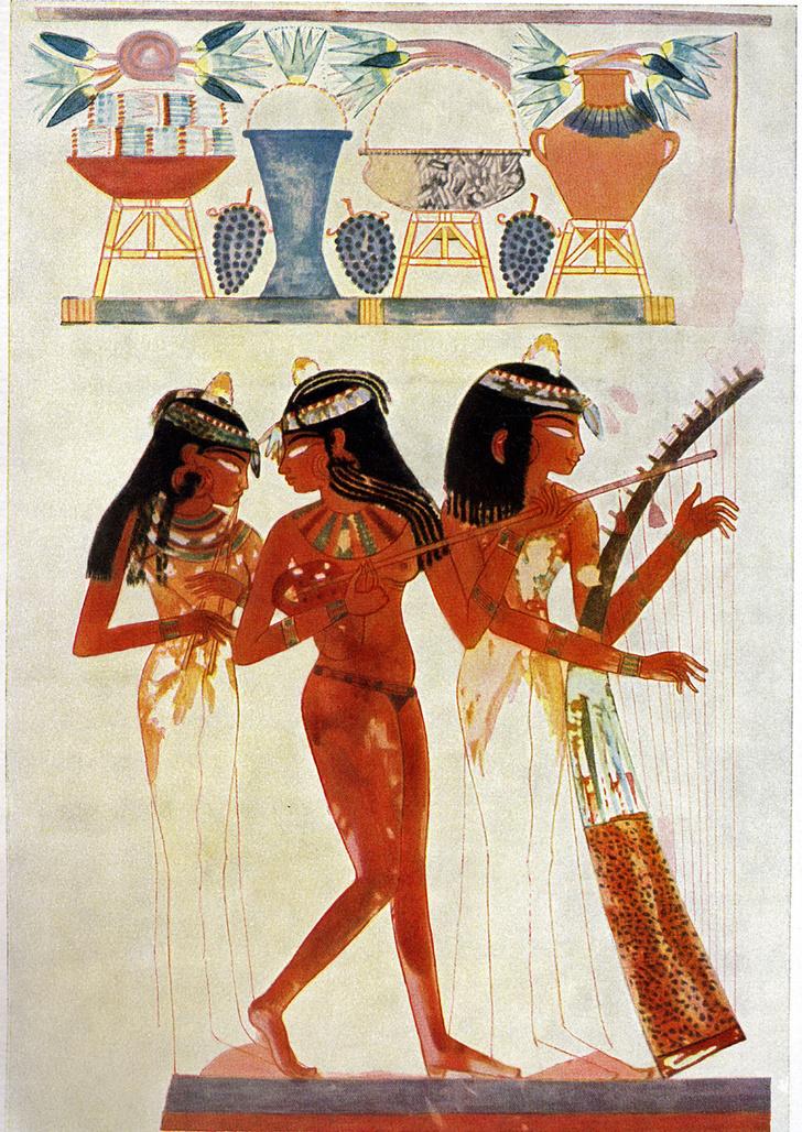 Фото №1 - Почему древние египтяне так странно рисовали людей?