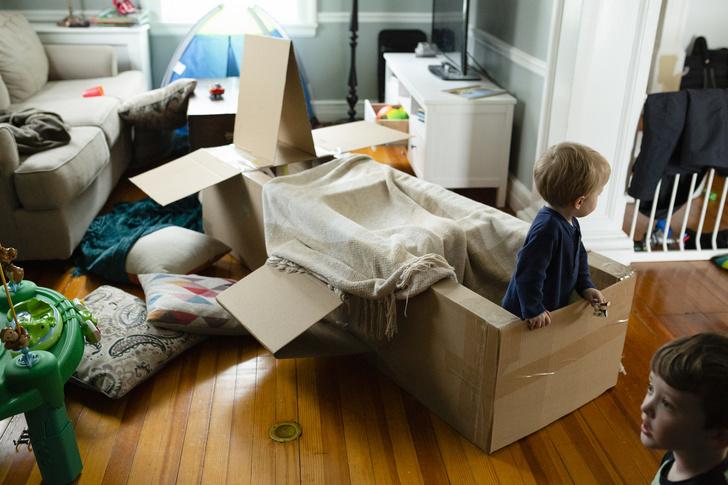 Фото №2 - Подвижные игры дома: 15 идей, как занять детей на карантине