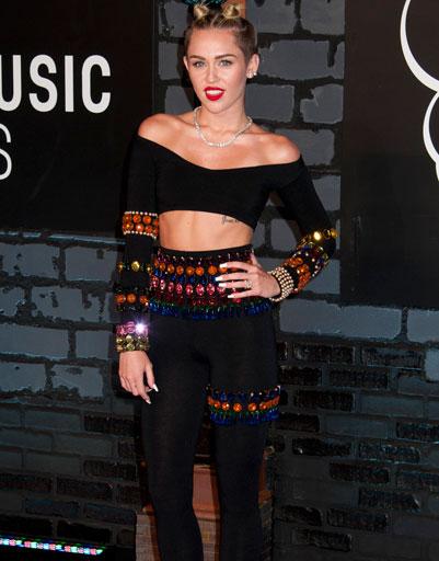 Майли Сайрус (Miley Cyrus) на MTV VMA 2013