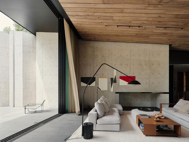 Фото №3 - Модернистский дом на горнолыжном курорте в Калифорнии