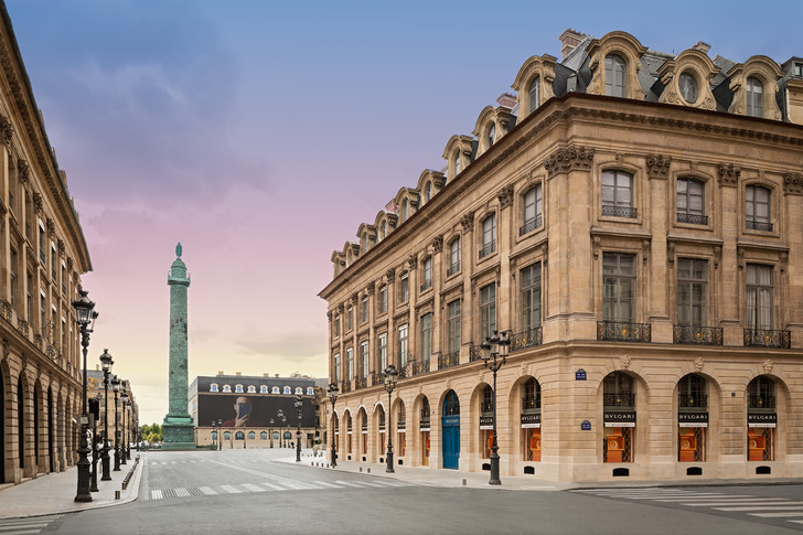Фото №1 - Новый бутик Bvlgari в Париже: проект Питера Марино