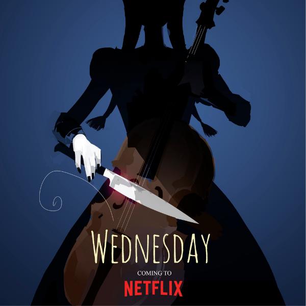 Фото №1 - «Уэнсдей»: Что мы знаем о первом сериале Тима Бёртона для Netflix? 💀