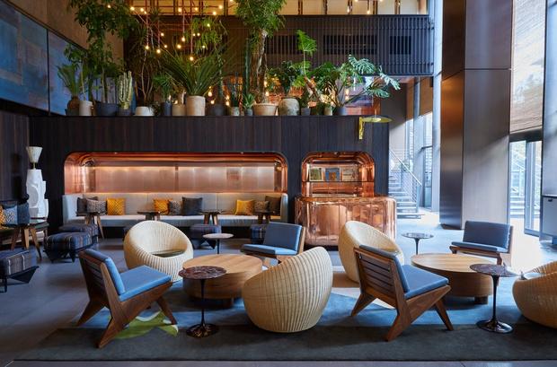 Фото №5 - Отель Ace Hotel в Киото по проекту Кенго Кумы