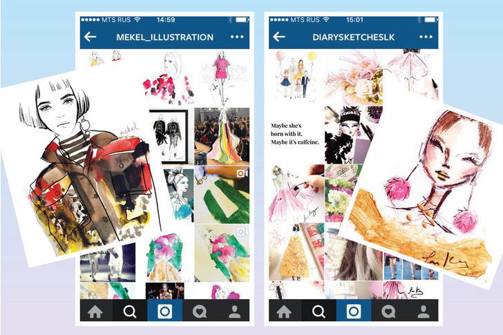 Фото №8 - 20 fashion-иллюстраторов, на которых стоит подписаться в Инстаграме