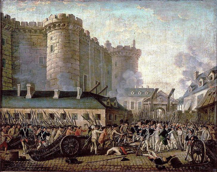 Фото №1 - 230 лет назад... Взяли Бастилию