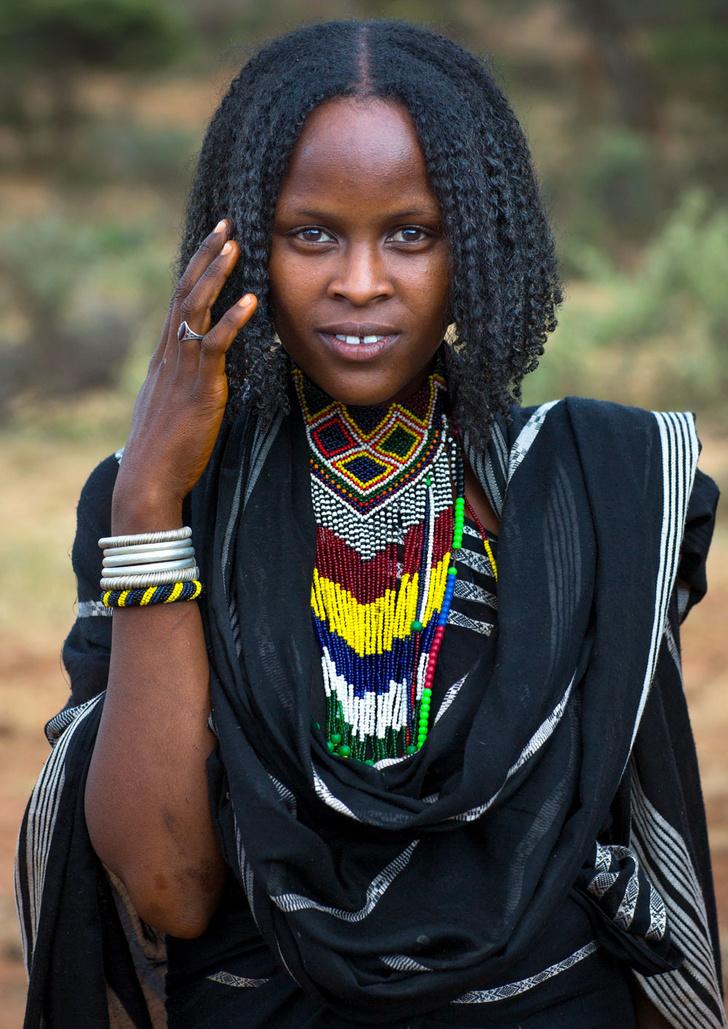 Фото №1 - Мисс мира: Эфиопия. Коса до пояса