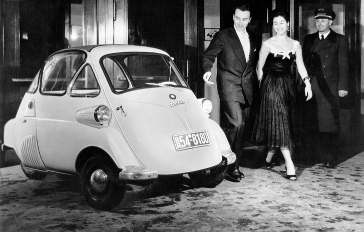 Фото №2 - «Изетта»: итальянский карлик, который спас BMW от банкротства