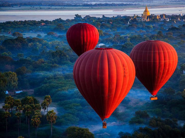 Фото №1 - Будда правит Бирмой, или отдых в Мьянме