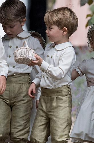 Фото №7 - Принцесса Шарлотта и принц Джордж на свадьбе Пиппы Миддлтон (фото)