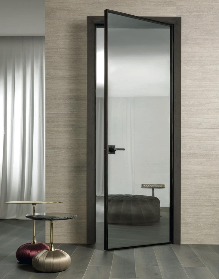 Фото №5 - Шик, блеск, красота: межкомнатные двери Aluminimum Chic от Longhi