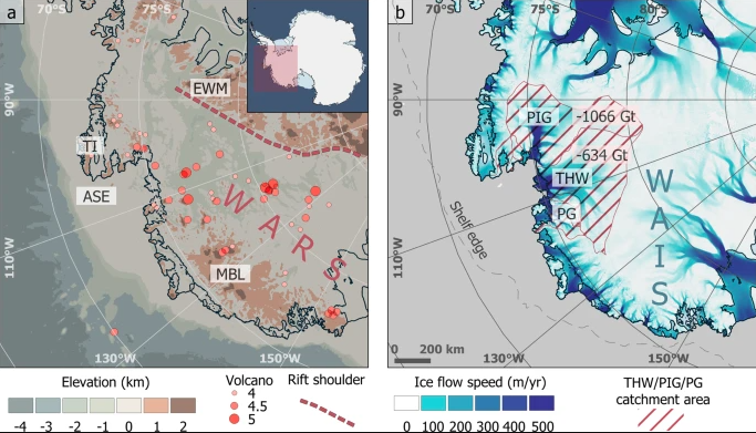 Фото №1 - Ученые выяснили, по какой причине стремительно тает ледник Судного дня