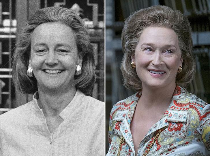 Фото №1 - Женщина против президента: кем на самом деле была героиня Мэрил Стрип из фильма «Секретное досье»