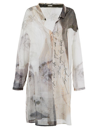 Эскиз к коллекции весна–лето2015; блузка из коллекции весна–лето 2015