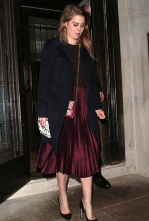 Фото №9 - Вечная классика: как королевские особы носят плиссированные юбки