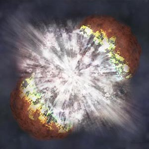 Фото №1 - Вспыхнула новая сверхновая